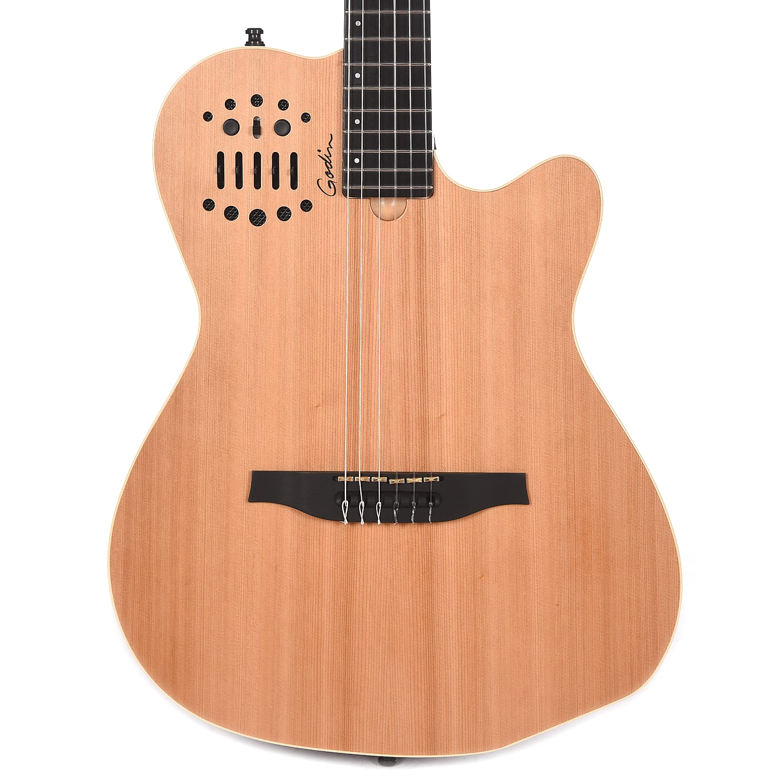 godin multiac acs slim nylon string electro acoustic natural w synth access. Black Bedroom Furniture Sets. Home Design Ideas
