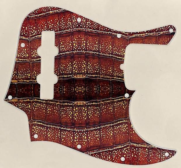 Graphical pickguard Fender Jazz Bass Jbass Standard