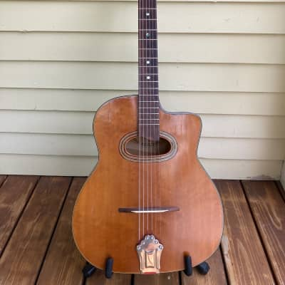 1950s Castelluccia D hole  gypsy jazz guitar NEW PRICE for sale