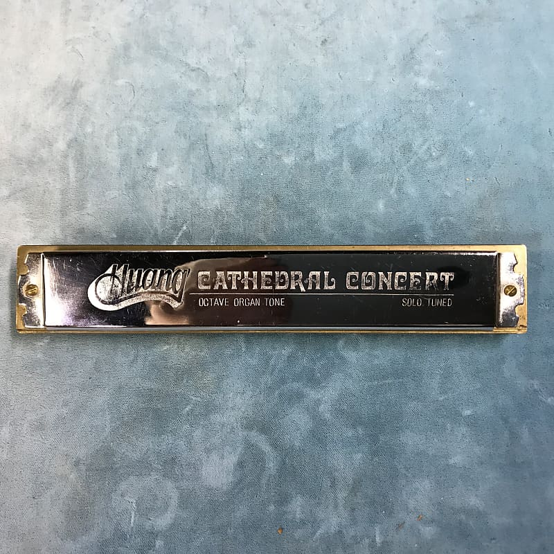 Huang Cathedral Concert Double Reed Harmonica Key of C