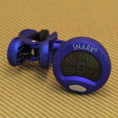 Snark SN-1 Snark Blue Guitar & Bass Clip-On Tuner