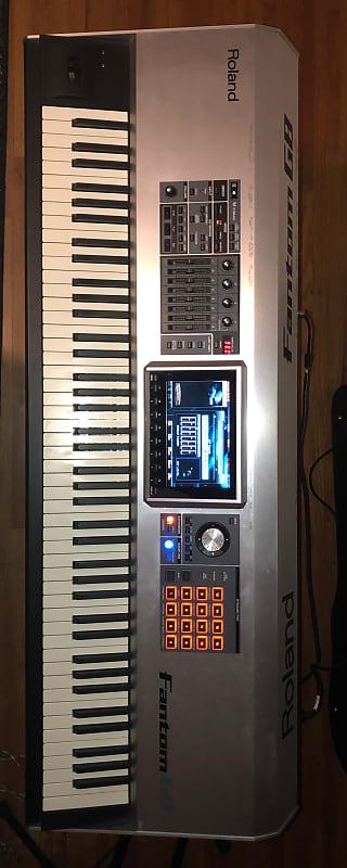 roland fantom g8 88 key workstation keyboard reverb. Black Bedroom Furniture Sets. Home Design Ideas