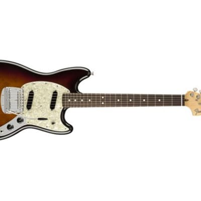 Fender American Performer Mustang Electric Guitar (3-Color Sunburst) (Used/Mint)