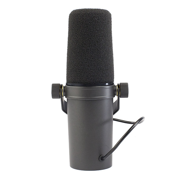shure sm7b cardioid dynamic microphone vintage king audio reverb. Black Bedroom Furniture Sets. Home Design Ideas