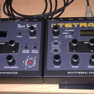 (2) Dave Smith Instruments Tetra 4 analog four voice synthesizers