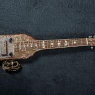 McKinney Lap Stel Mid 1950's Brown Pearloid for sale
