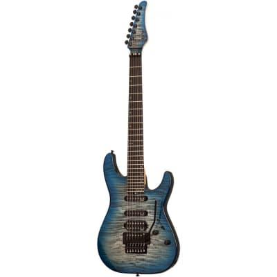 Schecter SUN VALLEY SS 7-FR III Sky Burst Electric Guitar