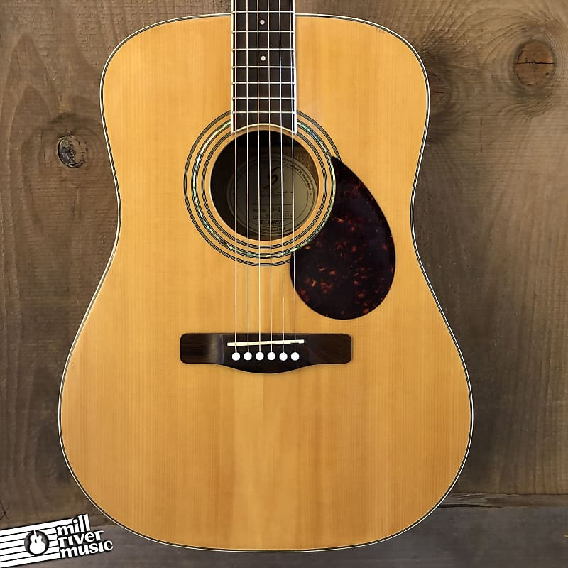 Samick Greg Bennett D-5 Dreadnought Acoustic Guitar Natural