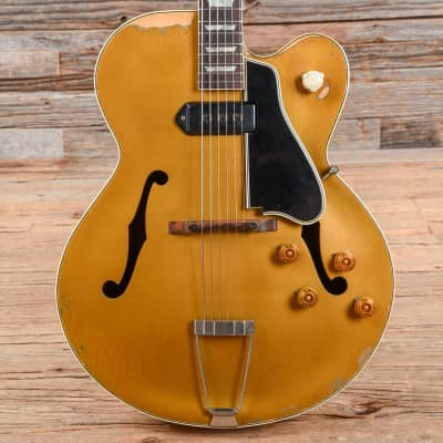 Gibson L-7C Gold Refin 1949 w/mid-'50s Neck & Wiring USED (s557)
