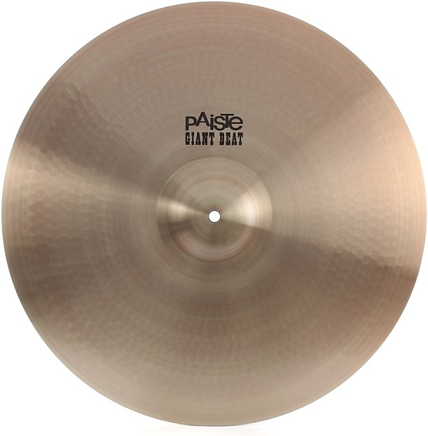 paiste giant beat crash ride cymbal 20 gearnuts reverb. Black Bedroom Furniture Sets. Home Design Ideas