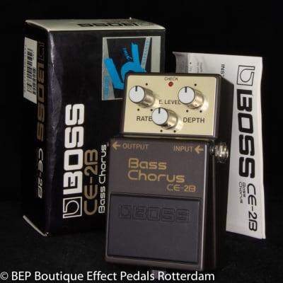 Boss CE-2B Bass Chorus 1991 s/n AC52213