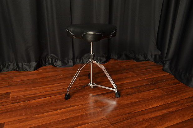 Tama Ht75wn Drum Throne With Motorcycle Seat And Threaded
