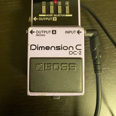 Boss DC-2 Dimension C (Black Label) 1985 - 1989 Purple