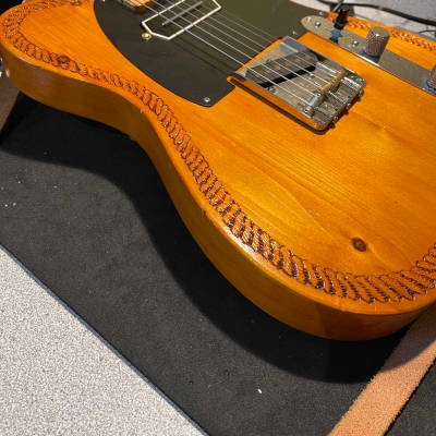 Rick Kelly  Bowery Pine Telecaster with Don Mare & TK Smith pickups for sale