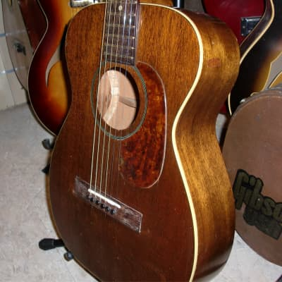 Gretsch 1955 Burl Ives Junior acajou for sale