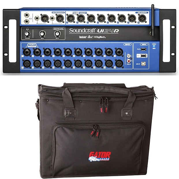 Soundcraft Ui24R 24-Channel Rackmount Digital Mixer with