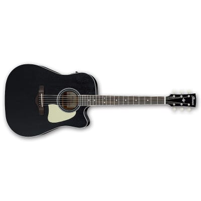 Ibanez AW360CE Artwood Acoustic-Electric Guitar Rosewood Board Weathered Black for sale