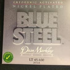 Dean Markley Dean Markley 2672A Blue Steel Nickel Plated BASS Guitar Strings 45-100 LT