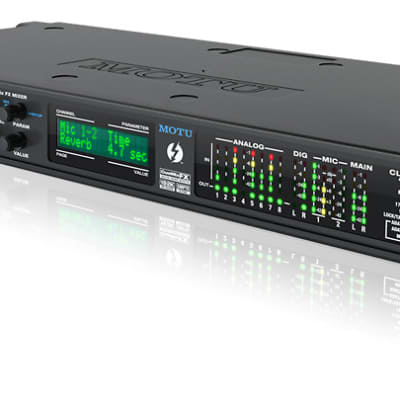 MOTU 828x Thunderbolt Audio Interface + NOS Panther Active Ribbon Microphone Combo