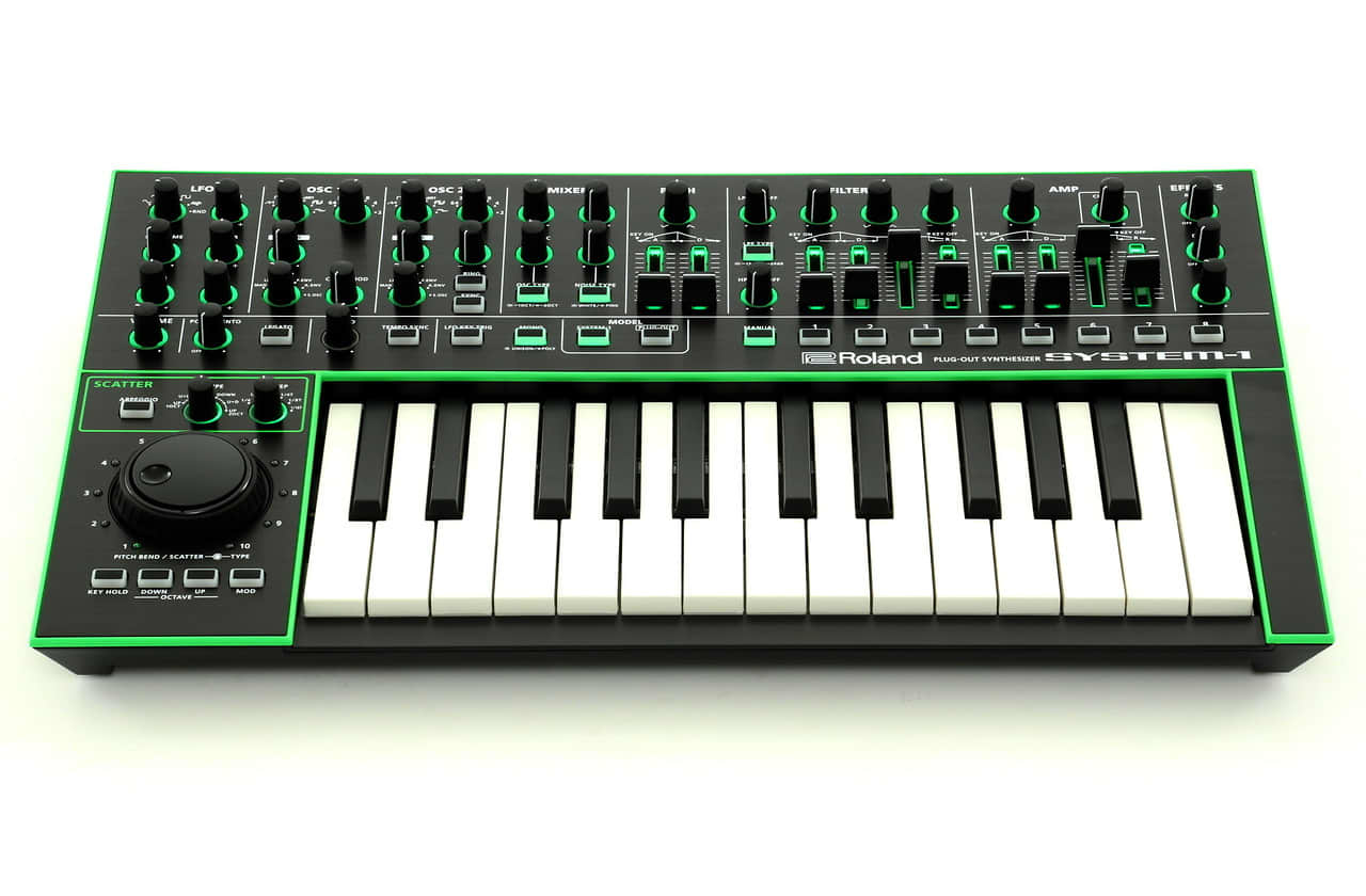 Roland Aira System 1 Plug Out Synthesizer Reverb
