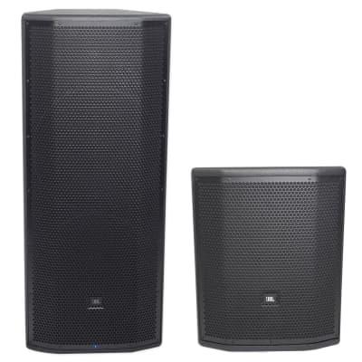 """99886066663 JBL Pro PRX825W Dual 15"""" 1500 Watt Active Speaker+15"""