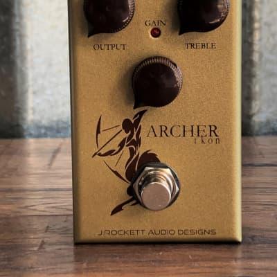 J. Rockett Audio Designs Archer Ikon Boost Overdrive Guitar Effect Pedal Demo