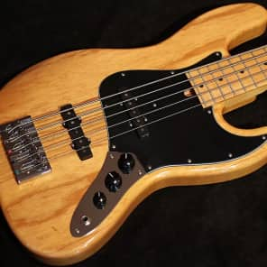 Mike Lull V5 Natural 5 String Jazz Bass for sale