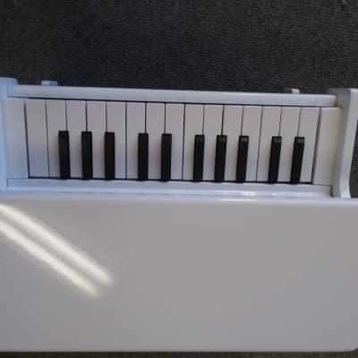 Korg Tiny Piano White Children's Digital Toy Piano damaged leg