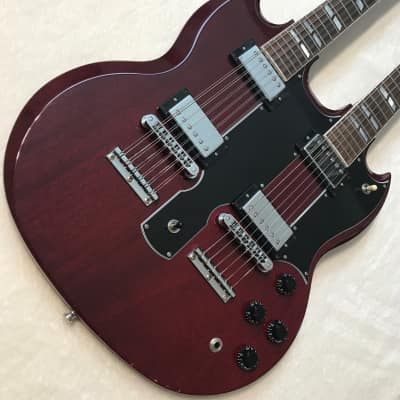 GIBSON EDS-1275 DOUBLENECK 1997 Cherry for sale