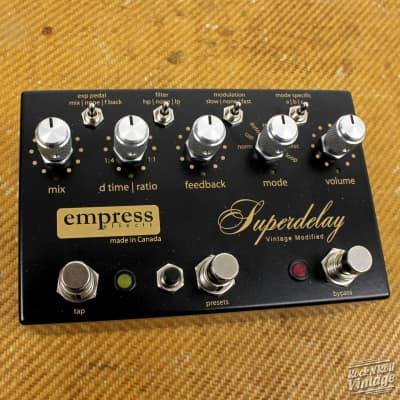 Empress Effects Vintage Modified Superdelay