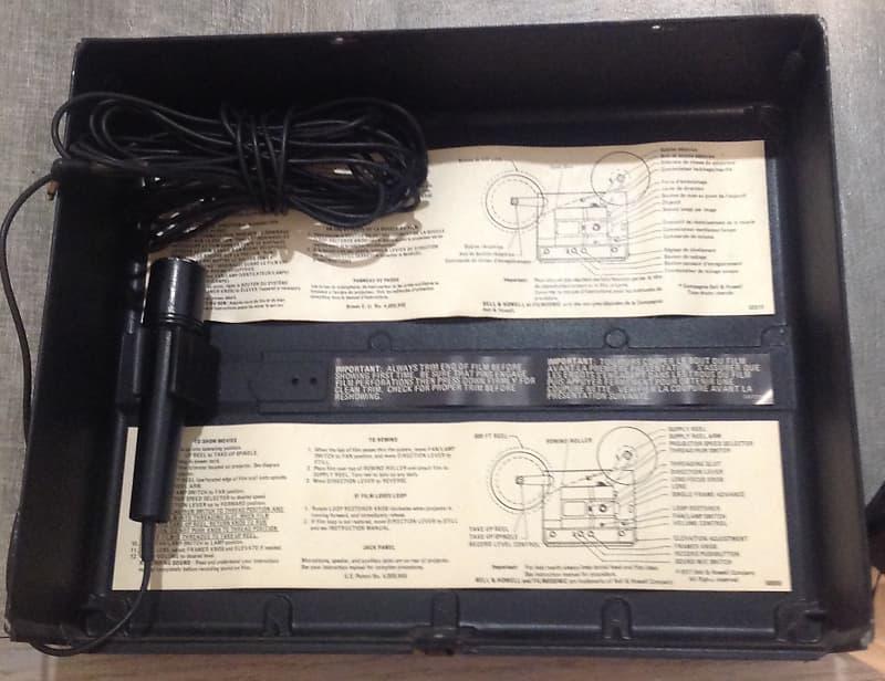 Bell & Howell Filmosonic 600ZR 8mm Projector/Amplifier