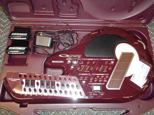 Used Suzuki Qc 1 Digital Songcard Guitar Q Chord Omniochord Reverb