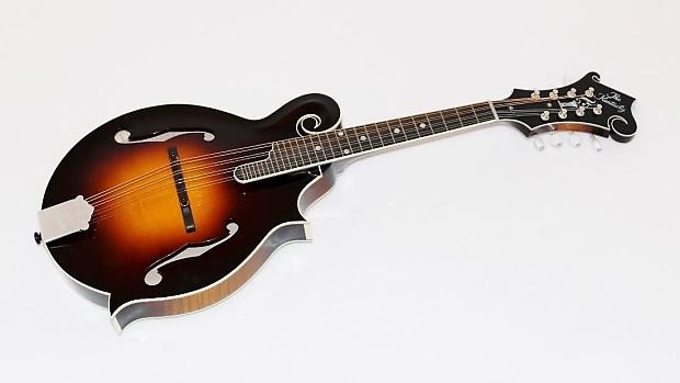 Kentucky KM-1000 All Solid Wood F-Style Mandolin w/ Case