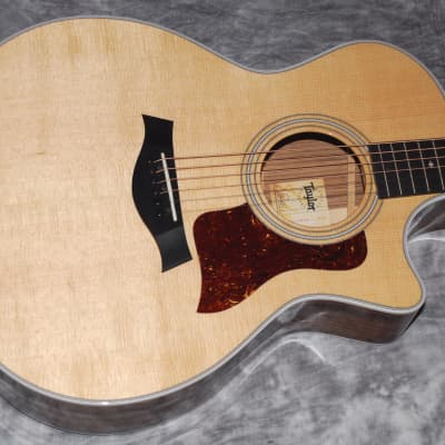 2020 TAYLOR 414ce V CLASS BRACING - SPECTACULAR SITKA/OVANGKOL - DELUXE HSC - AS NEW/UNPLAYED!