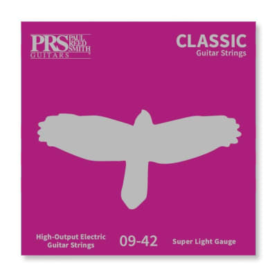 PRS Classic Nickel Plated Electric Strings - Super Light (9-42)