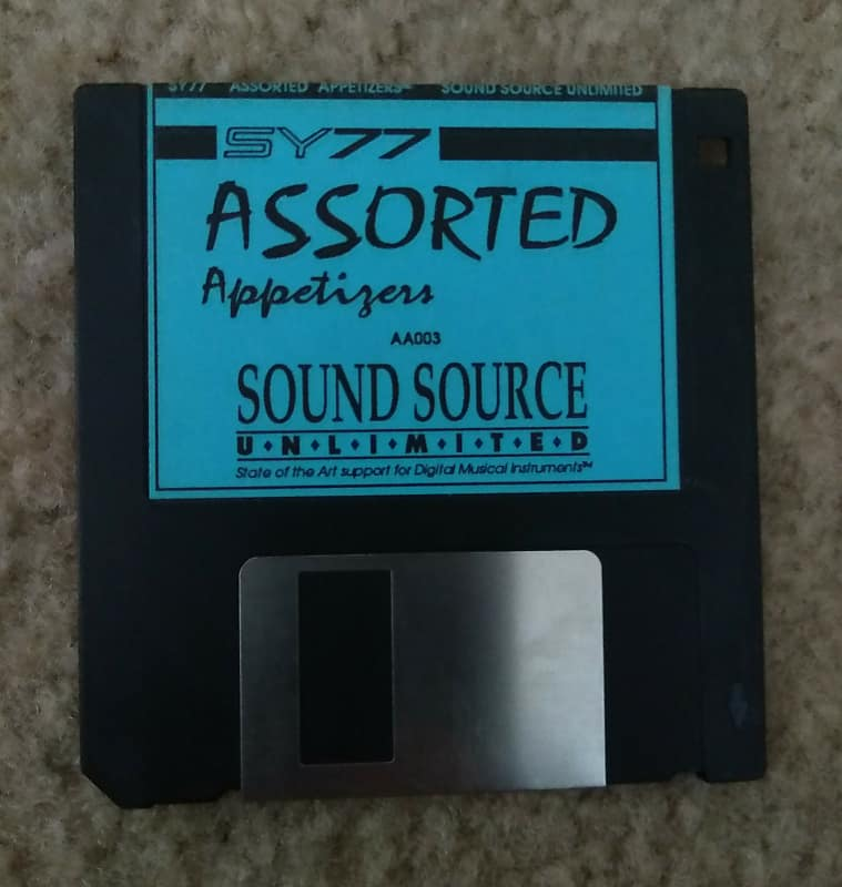 Yamaha SY77 Assorted Appetizers Data Disk