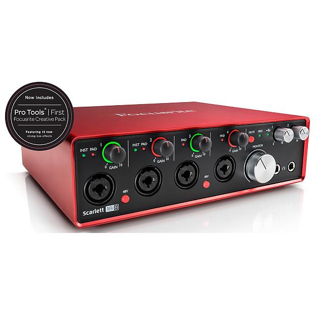 Focusrite 2nd Generation Scarlett 18i8 USB Recording Interface