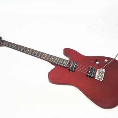 Kapok KA-TLSRD Satin Wine-Red All-Mahogany Electric Guitar,H-H Pickups +Free Bag for sale