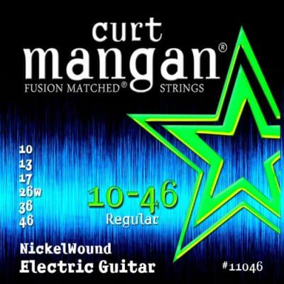 NEW Curt Mangan Nickel Wound Electric Strings - .010-.046