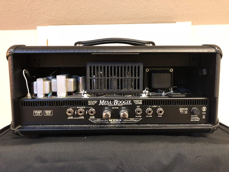 mesa boogie rectoverb 25 head blacked out grant bastin reverb. Black Bedroom Furniture Sets. Home Design Ideas