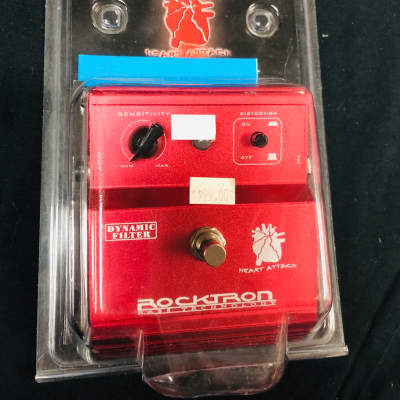 Rocktron Heart Attack Dynamic Filter Effects  Red for sale