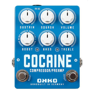OKKO Cocaine Compressor Guitar Pedal for sale