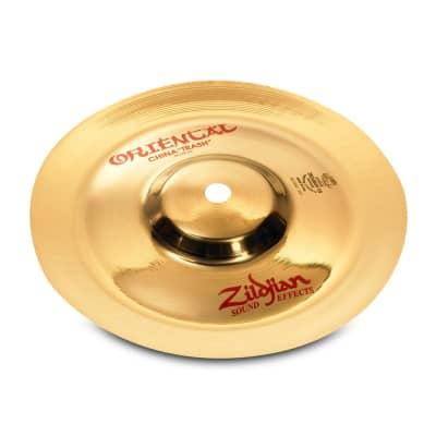 "Zildjian 10"" ORIENTAL CHINA TRASH Cymbal A0610"