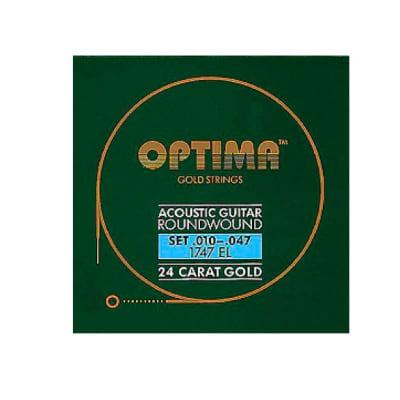 Optima Gold Acoustic Guitar Strings 10-47