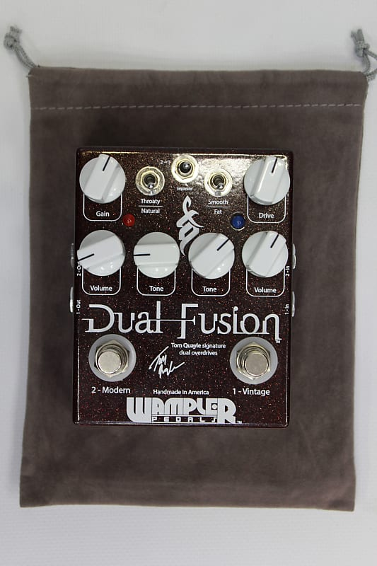 wampler dual fusion tom quayle signature overdrive pedal reverb. Black Bedroom Furniture Sets. Home Design Ideas