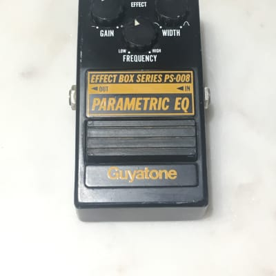 Guyatone PS-008 Parametic EQ 1980 Black/Yellow for sale