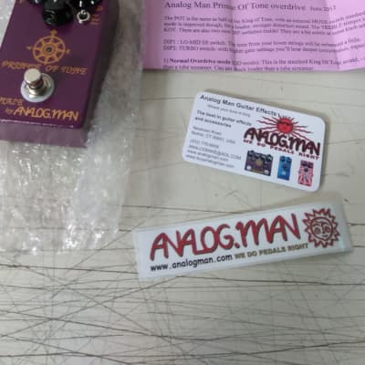 Analogman Prince of Tone (Brand New)(No TAX) for sale