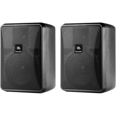 JBL Control 25-1 Compact 2-Way Indoor/Outdoor Passive Surface-Mount Loudspeakers (Pair)