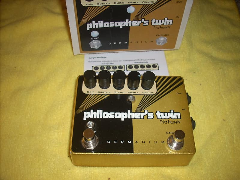 Pigtronix Philosopher's Twin w/Power Supply image