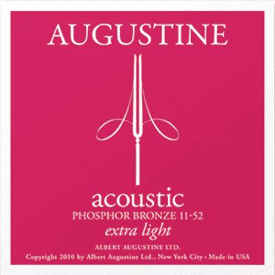 Augustine Acoustic Extra Light Phosphor Bronze